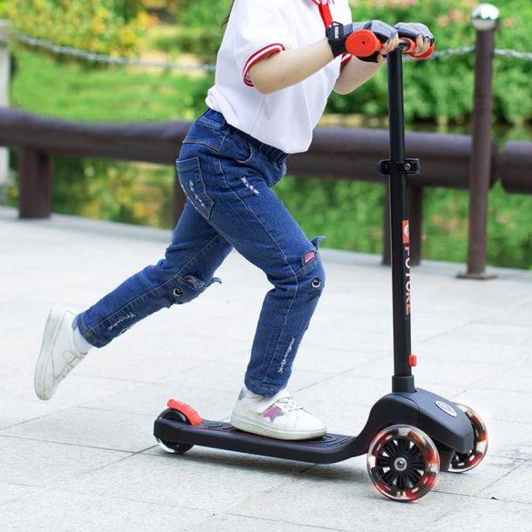 Qplay Future 3 kerekű roller - Red