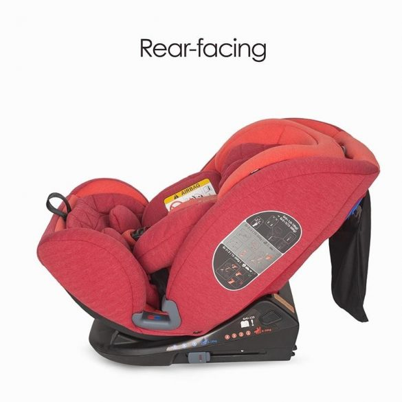 Coccolle Sedna gyerekülés 0-36 kg - Aurora Red