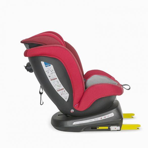 Coccolle Mydo forgatható Isofix gyermekülés 0-36 kg - Dahlia Red