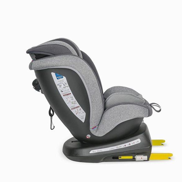 Coccolle Mydo forgatható Isofix gyermekülés 0-36 kg - Urban Grey