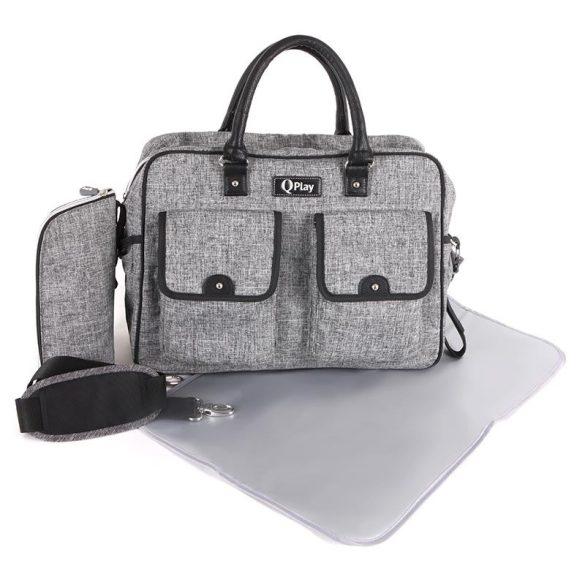 Qplay Sylvie pelenkázó táska - Grey