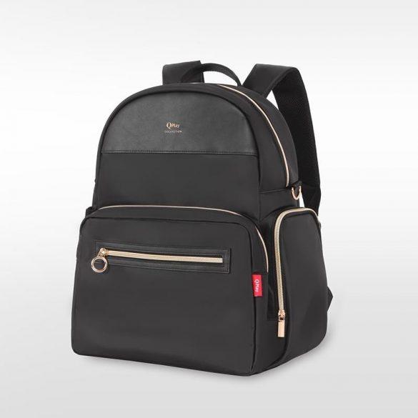 Qplay Britt pelenkázó táska - Black