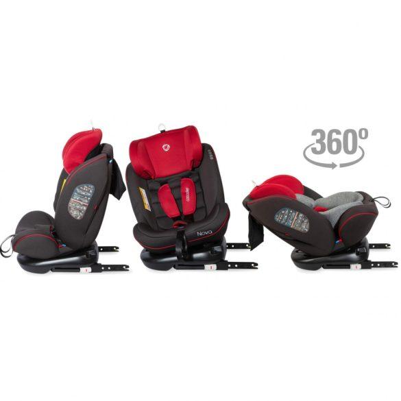 Coccolle Nova 360°-ban forgatható gyerekülés 0-36 kg - Red