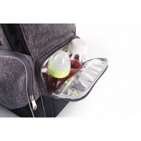 Qplay Carrie pelenkázó táska - Dark Grey