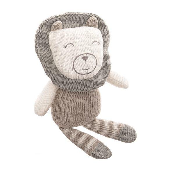 Baby Hug - Kötött oroszlán - 33 cm