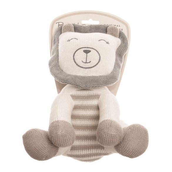 Baby Hug - Kötött oroszlán - 24 cm
