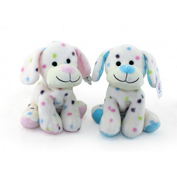 Baby Hug - Plüss kutya - kék - 27 cm