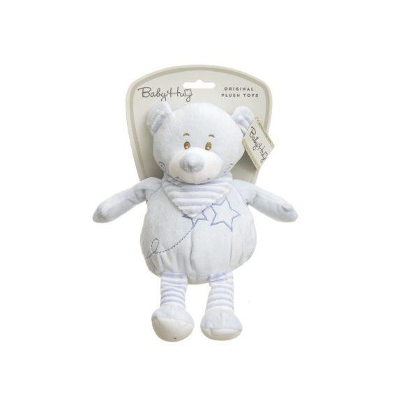 Baby Hug - Plüss puha mackó - kék - 30 cm