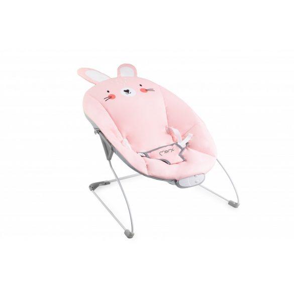 MoMi Glossy rezgő pihenőszék - Bunny