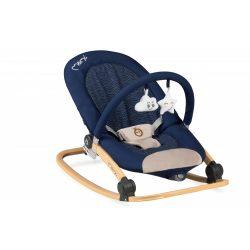 MoMi Lumiwood rezgő pihenőszék - Navy Blue