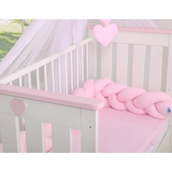 BabyLion Prémium Fonott rácsvédő - Rózsaszín