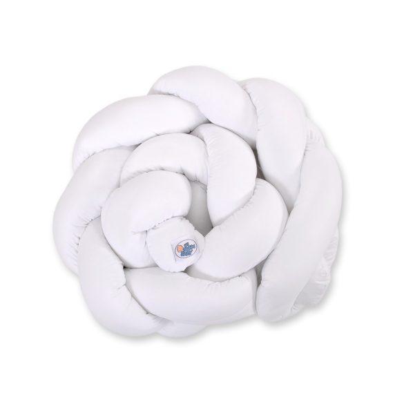 BabyLion Prémium Fonott rácsvédő - Fehér