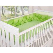 BabyLion Prémium Plüss fonott rácsvédő - Zöld