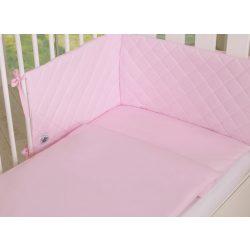 BabyLion Prémium Royal 3 részes ágyneműszett - Rózsaszín