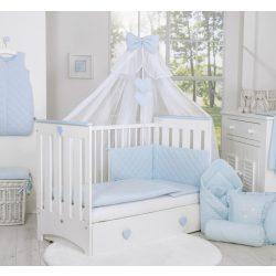 BabyLion Prémium Royal 5 részes ágynemű szett - Kék