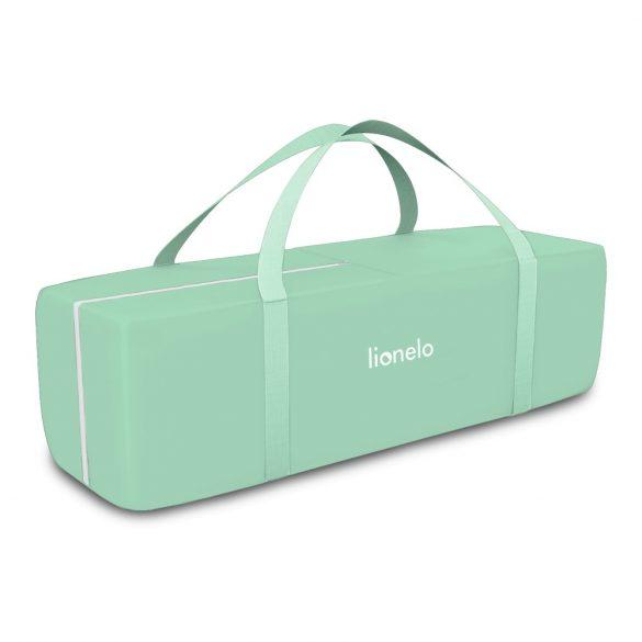 Lionelo Flower multifunkciós utazóágy - Turquoise