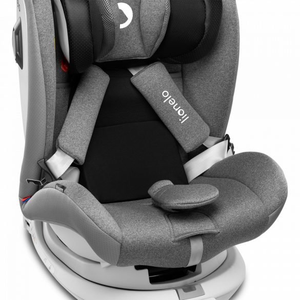Lionelo Braam 360° ISOFIX gyermekülés 0-36 kg - Stone