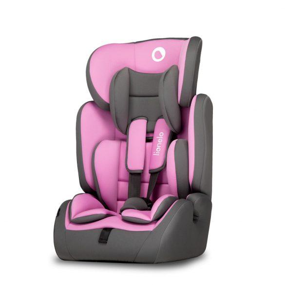 Lionelo Levi Simple gyermekülés 9-36 kg - Candy Pink