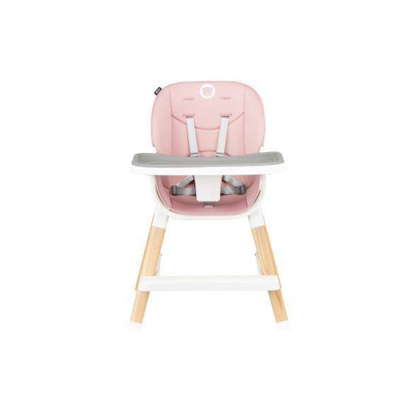 Lionelo Mona fa lábú etetőszék - Bubblegum