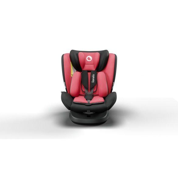 Lionelo Bastiaan One 360°-ban forgatható IsoFix gyermekülés 0-36 kg  - Red Chili