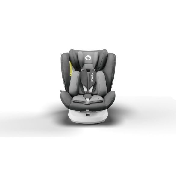 Lionelo Bastiaan One 360°-ban forgatható IsoFix gyermekülés 0-36 kg  - Grey Graphite
