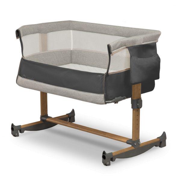 Lionelo Leonie  3az1-ben babaágy, bababölcső és babaöböl - Grey Stone
