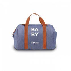 Lionelo Ida pelenkázó táska - Blue Denim