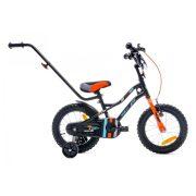"""Sun Baby Tiger bicikli 14"""" - Fekete-Narancs"""