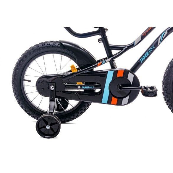 """Sun Baby Tiger bicikli 16"""" - Fekete-Narancs"""