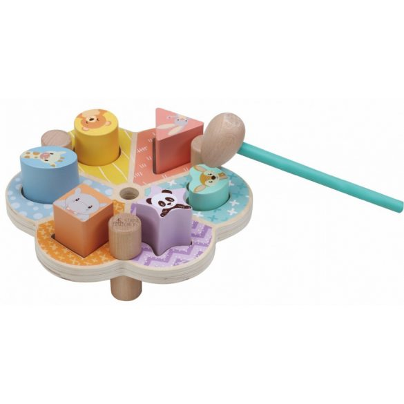 Sun Baby Fa játék virág alakú - Kalapács
