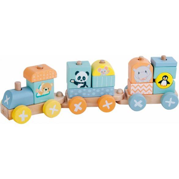 Sun Baby Fa vonat - Panda és barátai