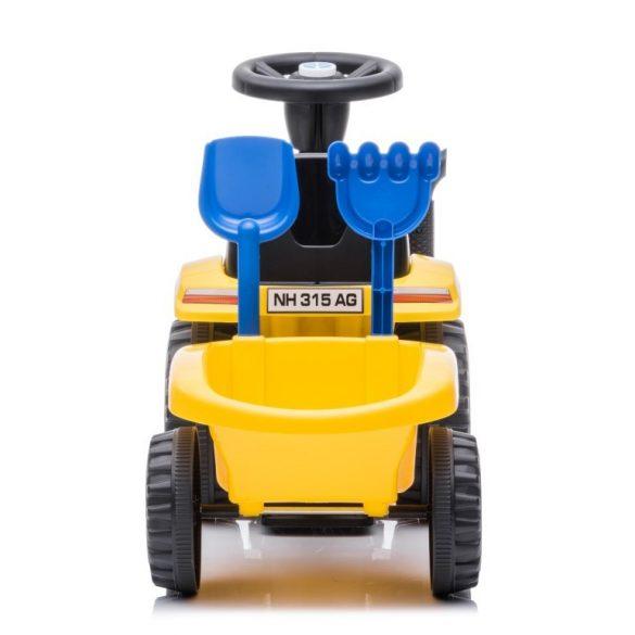 Sun Baby bébitaxi - New Holland traktor pótkocsival - sárga