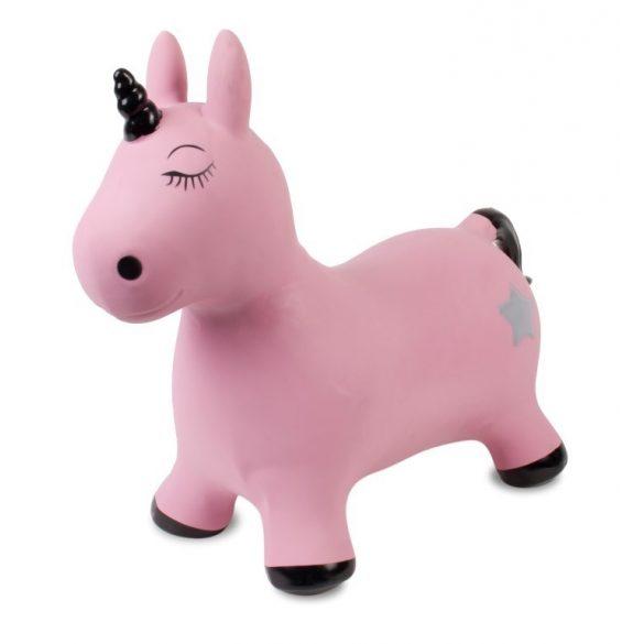 Sun Baby Gumi ugráló - Unikornis - Rózsaszín-Fekete