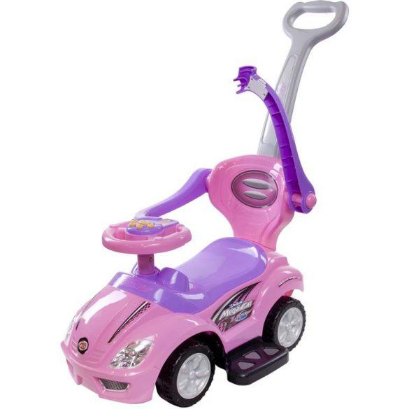 Sun Baby Ride on tolókaros bébitaxi - Mega - Rózsaszín