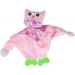 Sun Baby szundikendő - rózsaszín bagoly
