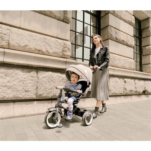 Sun Baby Qplay Rito lapra csukható tricikli - Bordó Unikornis