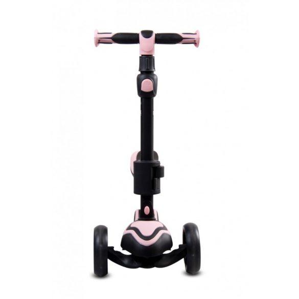 Sun Baby 3 kerekű Roller - Rózsaszín - Fekete