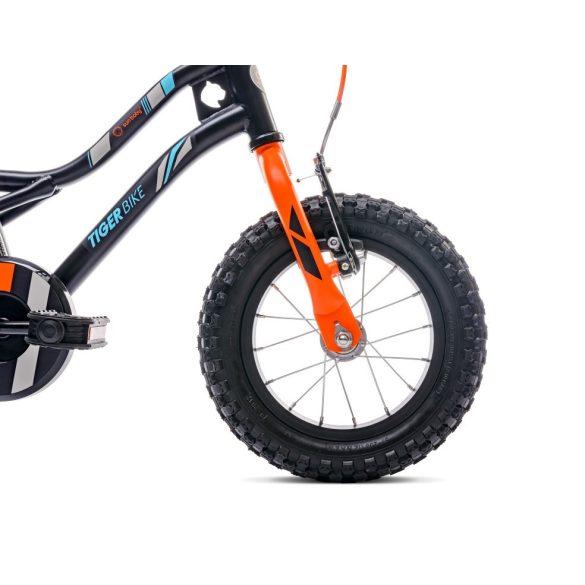 """Sun Baby Tiger bicikli 12"""" - Fekete-Narancs"""