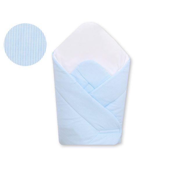 BabyLion Prémium merevített pólya - Kék csíkos