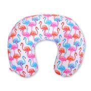 BabyLion Prémium Etető párna - Flamingók  !! KIFUTÓ !!
