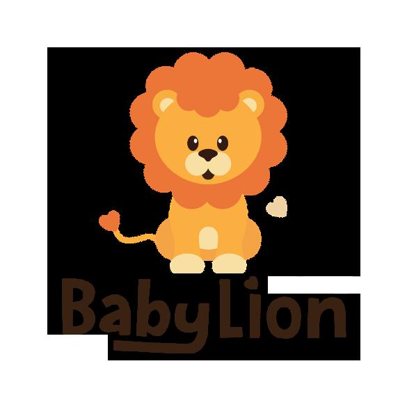 BabyLion Prémium baldachin - Kék - Fehér pöttyök - szivecskével