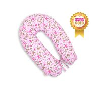 BabyLion Prémium szoptatós párna - Rózsaszín pillangók