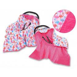 BabyLion Prémium univerzális takaró - Pink - Flamingó !! KIFUTÓ !!