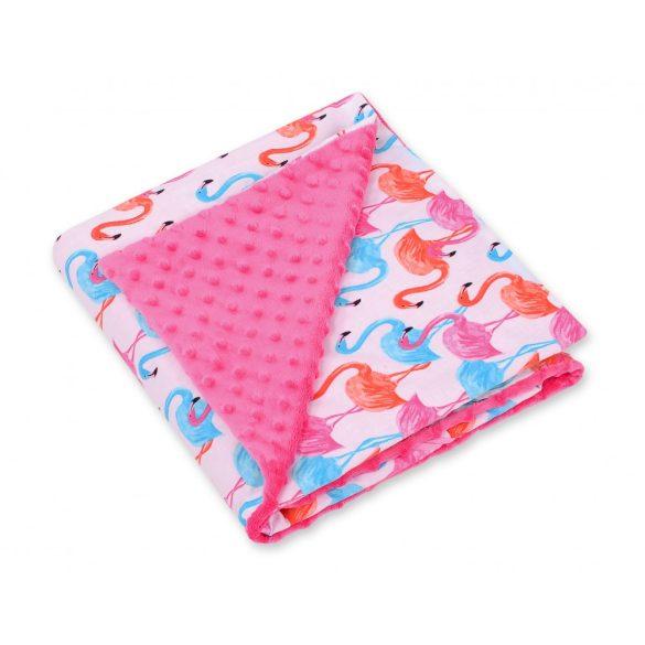 BabyLion Prémium univerzális kétoldalas takaró - Pink - Flamingó !! KIFUTÓ !!
