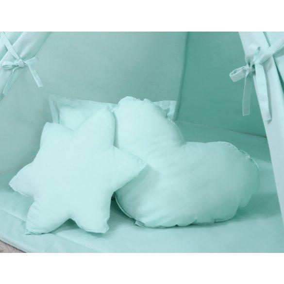 BabyLion Textil sátor játszószőnyeggel és párnákkal - Menta