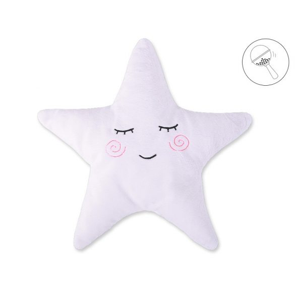 BabyLion Prémium Csillag párna - Fehér