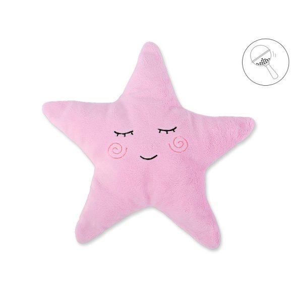 BabyLion Prémium Csillag párna - Rózsaszín