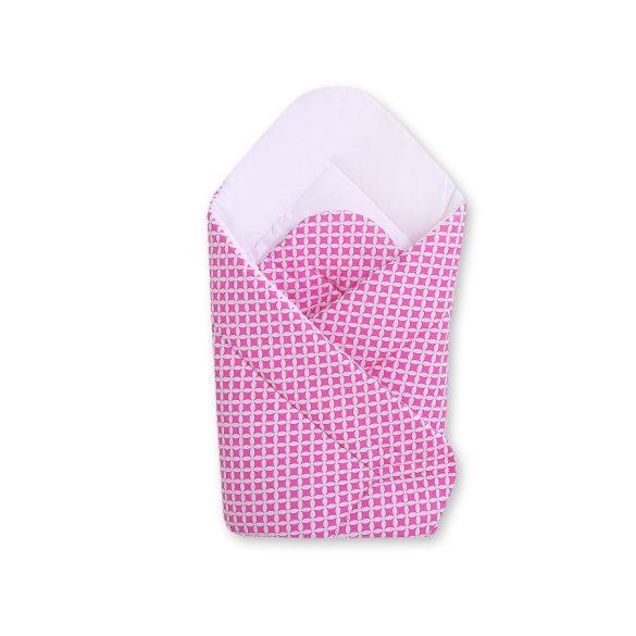 BabyLion Prémium pólya - Rózsaszín - Fehér