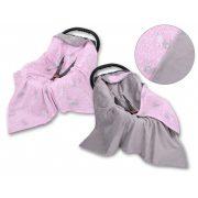 BabyLion Prémium univerzális takaró - Rózsaszín nyuszik