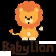 BabyLion Prémium Szív párna - Kék nyuszik